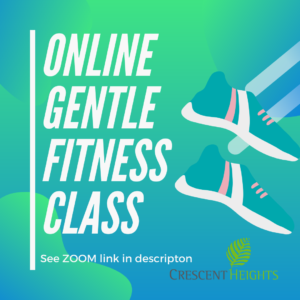 Gentle Fitness @ https://www.facebook.com/chcayyc/